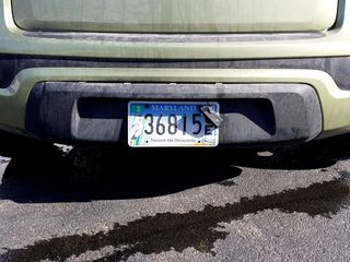 In February 2015, I had some very minor accident damage. I inadvertently backed into a pole, and separated the rear bumper. My father and I snapped it all back together while I was down visiting, and all was well again.