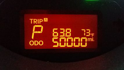 On August 27, the Soul turned her 50,000th mile.