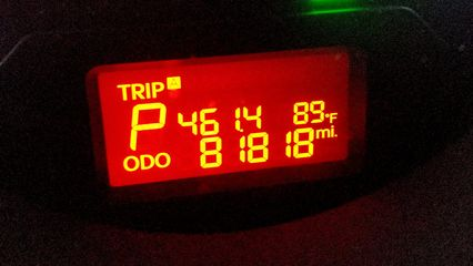 On August 9, the Soul turned her 81,818th mile while I was pulling into IKEA.