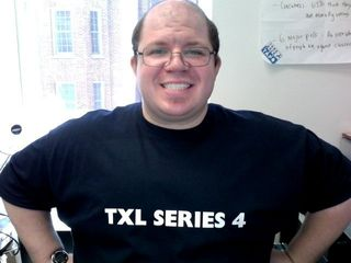 First time wearing my TXL Series 4 shirt. I was by no means small, but compared to how I looked a few months prior, I looked awesome.