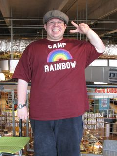 At the Lincoln Park Whole Foods, I really was starting to notice some results. I looked awesome in this photo!
