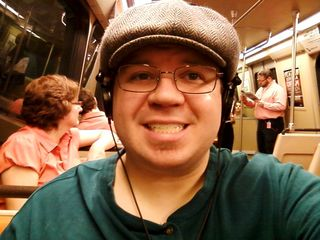 This was my Twitter avatar for about five months, when I took this photo on Breda 4096. With the change in facial proportions, my nose started to look a little bigger...