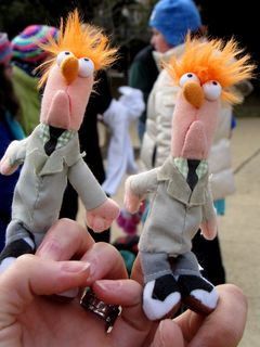 There were also finger puppets.