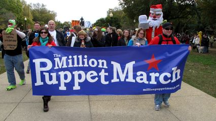 The march steps off from Lincoln Park.