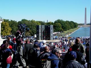 As you can see, this was a well-attended event, with roughly 10,000 people in attendance. However, despite this large turnout, it missed the organizers' mark by a large margin. The organizers expected attendance to be closer to 100,000.