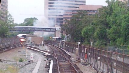 This was the day of the Red Line fire. I was on that train before being offloaded at Takoma.