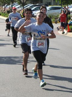 On Memorial Day, I came out to cheer my friend Suzie (#545) and her brother Carlos (#546) on as they did the Jeremy's Run 5K, which raised money for a number of different local charities.