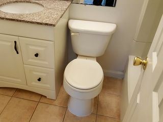 A vanity was chosen that was too large for the space that it would be in.