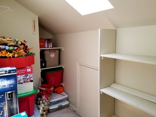 In this case, about half of the mezzanine had been converted into a storage closet, and the skylight was the only source of light in that closet.