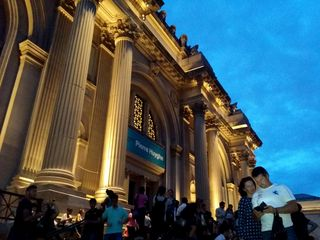 The Met, right after closing.