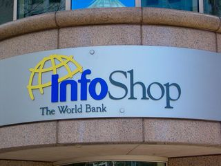 """How ironic that the World Bank runs its own bookstore known as """"InfoShop"""", seen here in this February 28, 2006 file photo, considering that a real Infoshop exists at 9th and P Streets NW."""