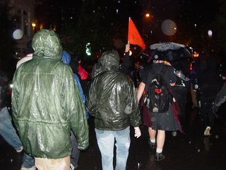After leaving the Mayflower Hotel, our group resumed its circuitous march through the streets of Washington DC.