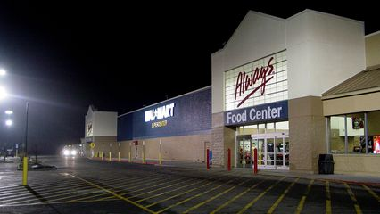 This is the Wal-Mart in Woodstock, seen here in a January 4, 2006 file photo.