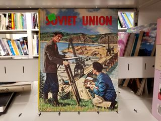 On January 7, Elyse and I visited the book sale at the Wheaton Library and found this gem about the Soviet Union, published in 1965.