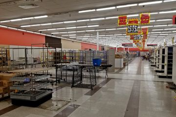 On January 22, we paid a final visit to the Kmart store off of Sargent Road in Chillum, Maryland. This store was housed in a former Memco building.