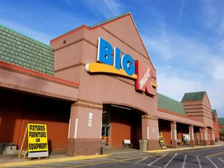 We also paid a final visit to the Kmart in Frederick, which was in the later stages of a closing sale.