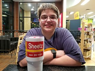 We got a heavy duty reusable cup at the Walkersville Sheetz while we were out.