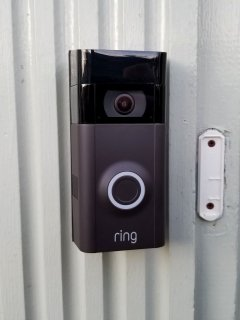 On February 19, I finally got a proper doorbell, as I installed a battery-powered Ring device next to the door.