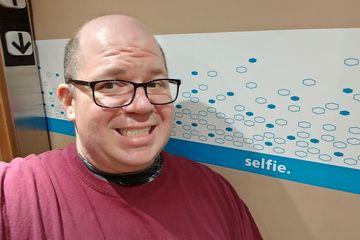 Selfie? Don't mind if I do!
