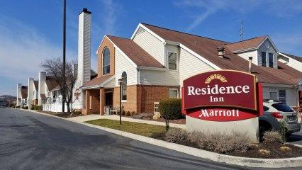Our hotel, the Residence Inn in Harrisburg.
