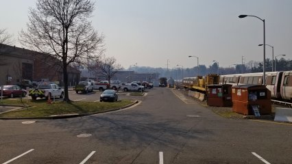 On March 8, I was surprised to see how smoky the air was in Northern Virginia as I was driving to work. As it turned out, this smoke had originated with a controlled burn in Quantico, in southern Prince William County, and traveled with the winds up to the Tysons Corner area. The smoke was gone a few hours later.