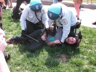Arrests were made, and soon, the area was crawling with police, both Park and Metropolitan.