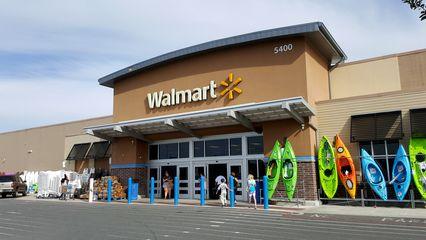 Walmart store #2000, in Kill Devil Hills, North Carolina.