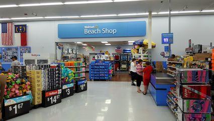 Beach shop.