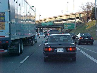 Rush hour in Richmond... not fun.