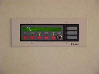 Meanwhile, down in the lobby, the remote fire alarm annunciator (the FACP was behind the front desk) was indicating that there was a trouble condition on the fire alarm system.  Curious, indeed...