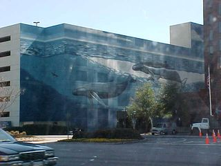"""The one thing that everyone at JMU who was from this area was asking me about was if I got a photo of the """"whale building"""".  For the record, yes, I did get the whale building (actually a parking structure), and here it is!"""