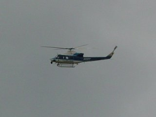 And Park Police helicopters were flying overhead.