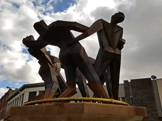 """""""Joy of Life"""", the so-called """"Anatomically Correct Statue""""."""