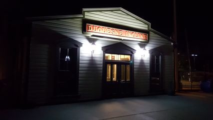 Duquesne Incline upper station building.
