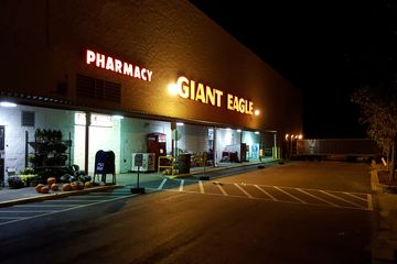 Giant Eagle, which is all that was left of Parkway Center Mall.