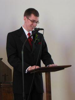 Brent then reads Shakespeare's Sonnet 116.