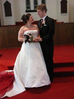 The happy couple...