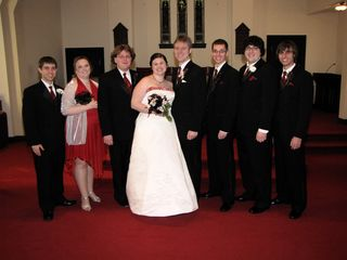 And then just the wedding party...