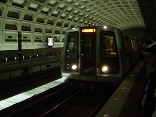 Yes, that is an Orange Line train at Pentagon City!