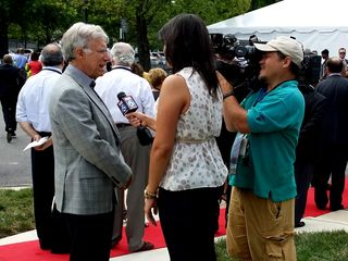 Fox 5 interviews Sol Glasner, chair of the Tysons Partnership.