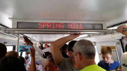 Next station: Spring Hill!
