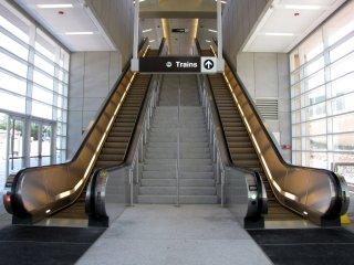 Escalators at McLean.