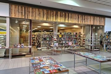 Former Waldenbooks store. Waldenbooks left Staunton Mall in the mid 1990s, around the same time that Wills arrived, and was replaced by Family Christian Stores, which occupied the space until 2017.