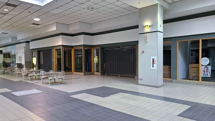Former Fashion Bug store. Fashion Bug left the mall in favor of a new space in the Martin's shopping center on Richmond Avenue. This space later housed Head Over Heels Gymnastics.