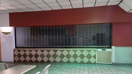 Former Dog Days space. Dog Days was the only holdover from the original food court that was located in the JCPenney wing.