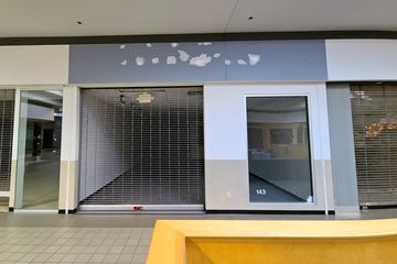 """This space originally housed a store called """"Hip Pocket"""". The final tenant was a consignment shop called """"Nothing Over $Twenty"""", which came to the mall in 2019."""