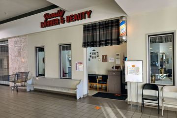 Family Barber & Beauty was a longtime tenant in Staunton Mall, having been in the mall as far back as the Staunton Plaza days. They stayed at the mall until the end, and relocated to a new space in Fishersville after the mall closed.