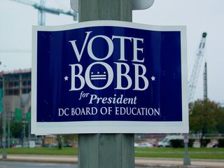 Meanwhile, Robert Bobb, a longtime city manager in various places across the country, was making his first foray into elected office by running for president of the DC board of education. He ultimately won the election.