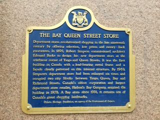 An historical marker on the store, new since my last visit in 1999.