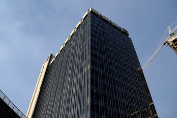 2180 Yonge Street, which houses offices for Canadian Tire and TVOntario, among others.